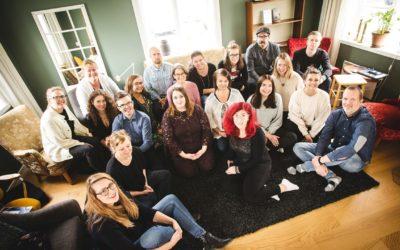 Tacksam incubatordeltagare på Go Business