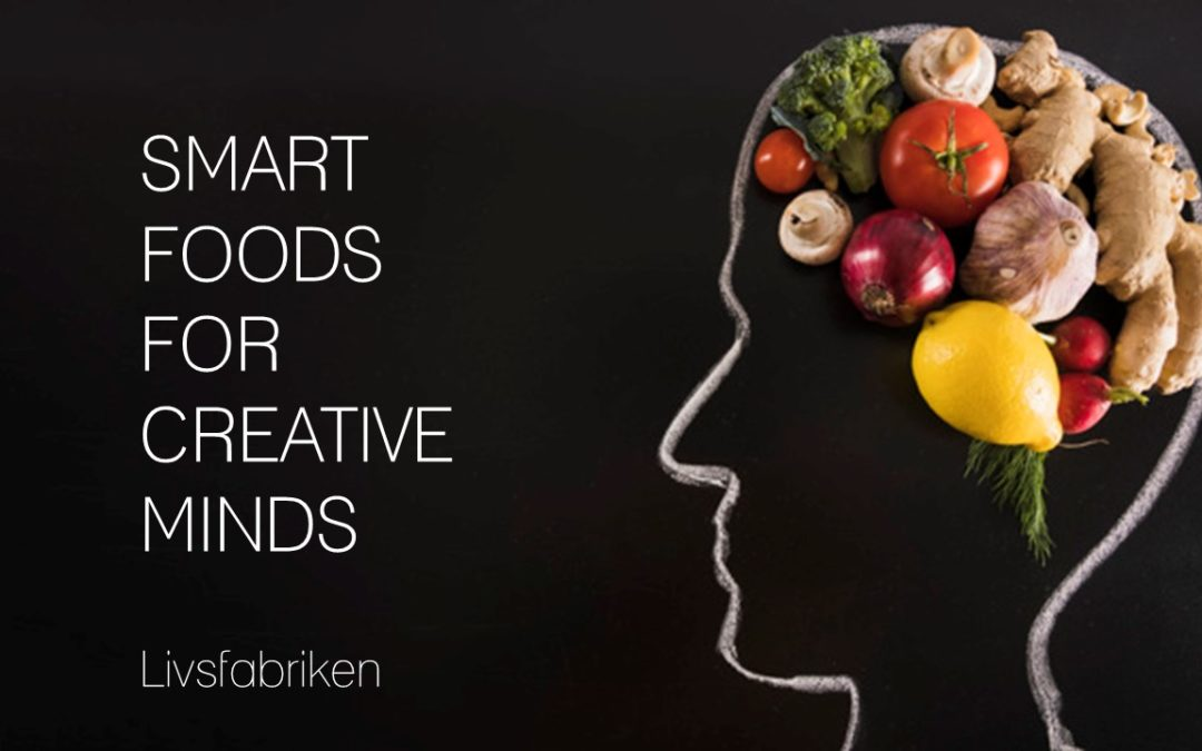 Smart foods for creative minds- TGN Talks onlinefrukost 4 juni