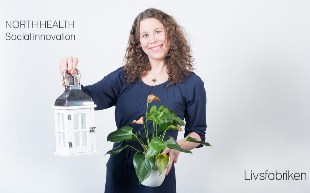 Livsfabrikens Sociala innovation North Health i regionfinal Venture Cup